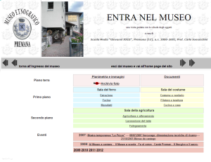 entra nel museo