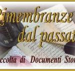 mostra di documenti storici: RIMEMBRANZE DAL PASSATO