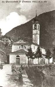 Immagini di Premana fine 1800 e inizi 1900
