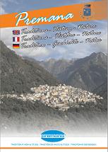 Opuscolo Premana cultura-tradizioni-natura in inglese francese tedesco